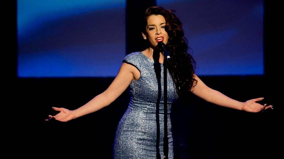 Todas las canciones de Eurovisión.Ruth Lorenzo durante una actuación en Holanda el pasado 6 de abril