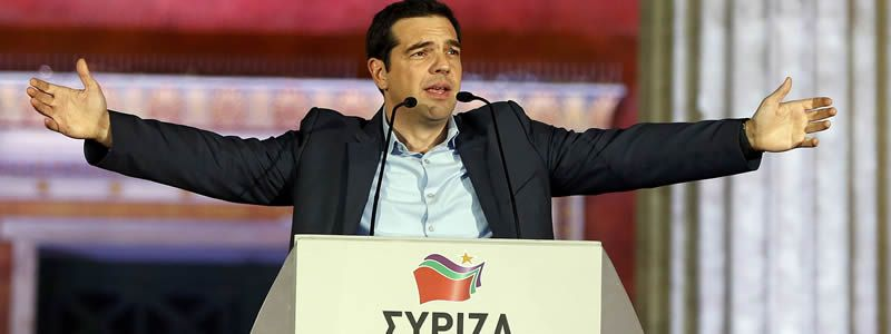 Alegría entre los votantes de Syriza