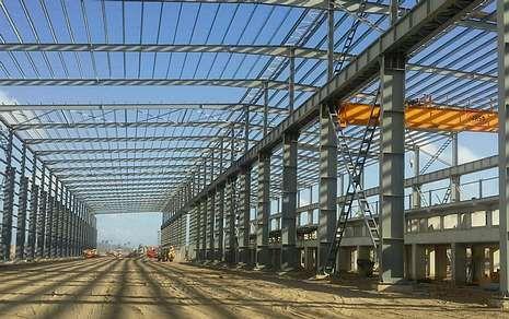 Los relevos ejecutados.La empresa dezana participa en el proyecto de una nueva planta siderúrgica en Fortaleza (Brasil).