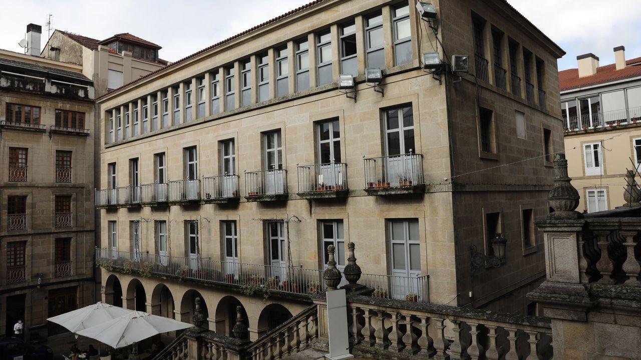 El edificio alberga en la actualidad oficinas administrativas municipales