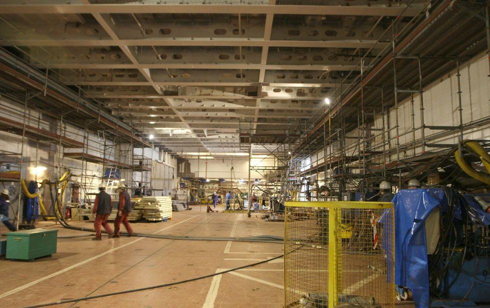 La construcción de los megabuques australianos ha desplazado a ferrolanos al país.