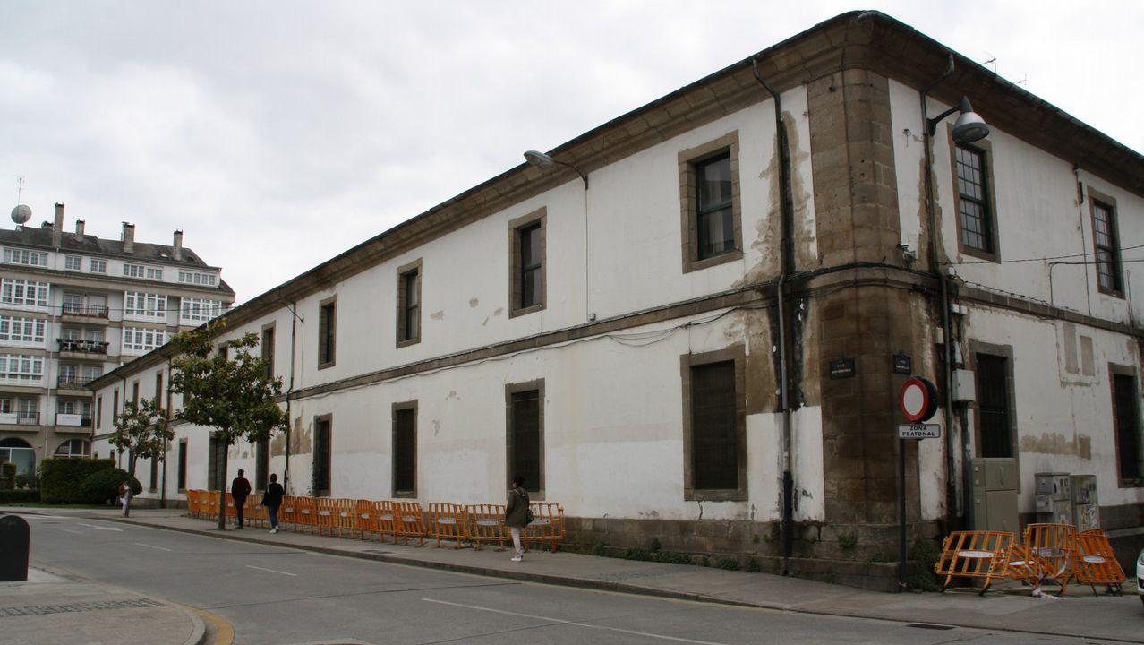 Cuartel de San Fernando, en ruina y abandono
