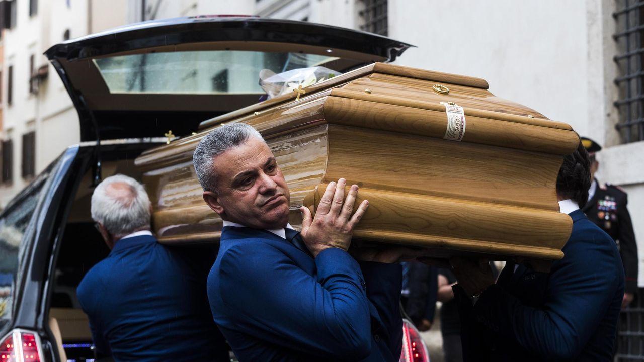 Salvini y Di Maio irán este lunes al entierro del carabinero asesinado a puñaladas el viernes en Roma por dos turistas estadounidenses