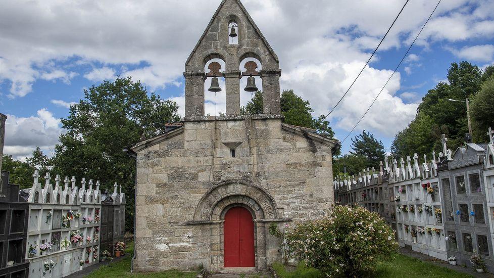 Fachada de la iglesia parroquial de Santa Trega