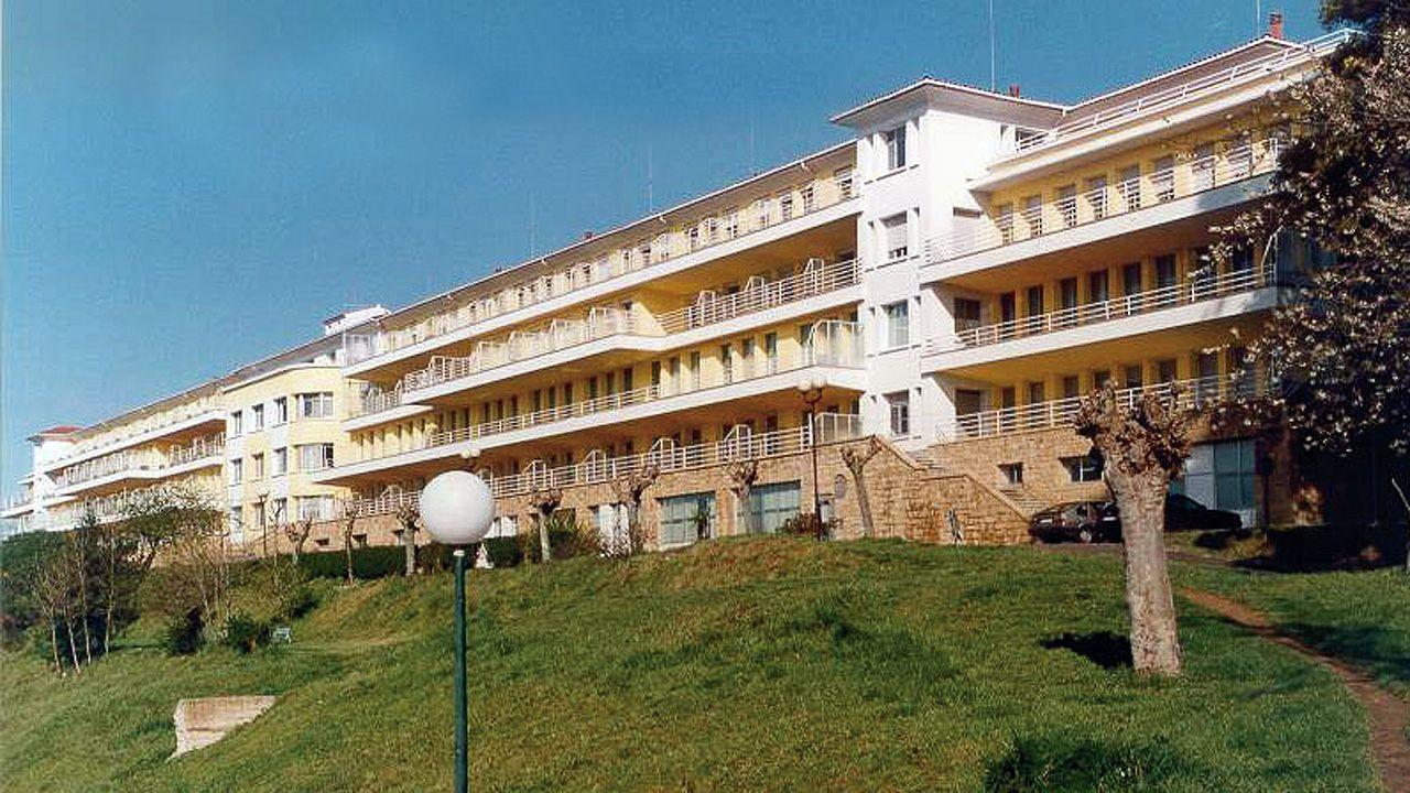 Las irregularidades en las vacunaciones se suceden.Hospital Monte Naranco de Oviedo