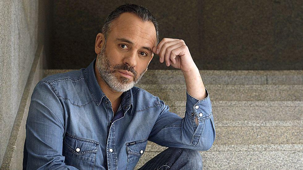 Serie «La Zona».Javier Gutiérrez, candidato al Goya al mejor actor
