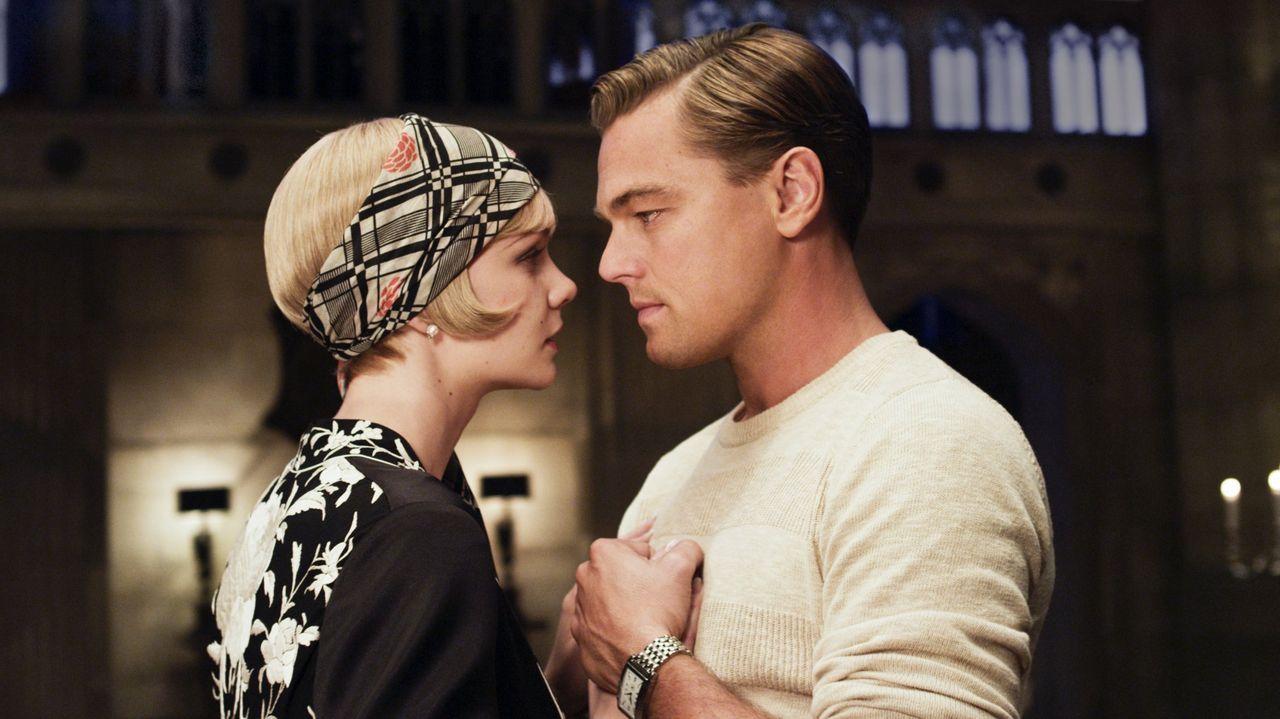 Leonardo DiCaprio protagonizó la película «El gran Gatsby» en el 2013