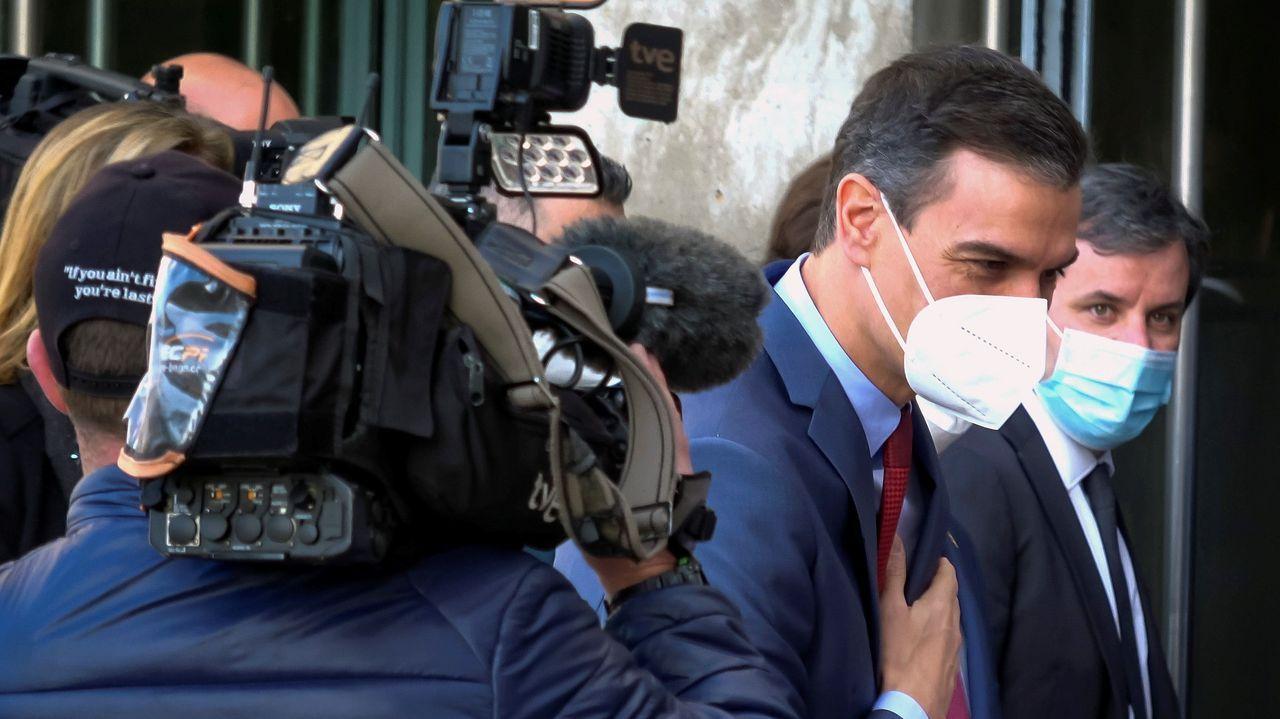 Entrevista a Ana Pontón.El presidente del Gobierno, Pedro Sánchez, en Mali durante una visita al contingente militar español desplegado en ese país de África Occidental.