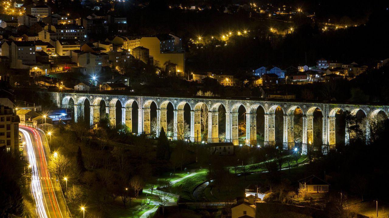 El viaducto de A Chanca, junto a la estación de Lugo, es un bien catalogado