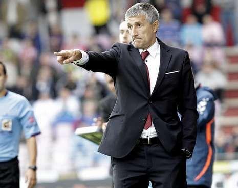 Quique Setién es el ídolo indiscutible para la afición del Club Deportivo Lugo.