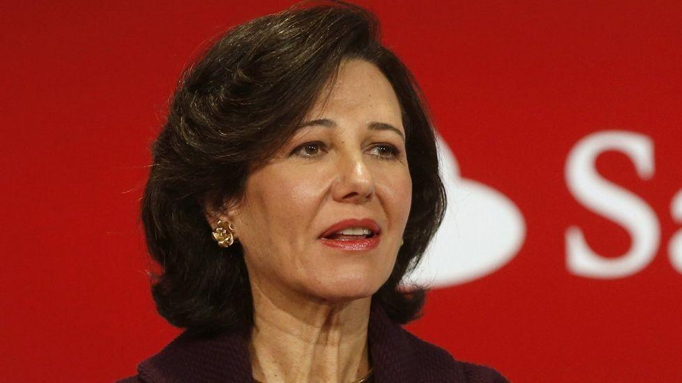 Santander. Beneficio neto: 4.606 millones. El banco que preside Ana Botín ganó hasta septiembre un 22,5 % menos que en el 2015