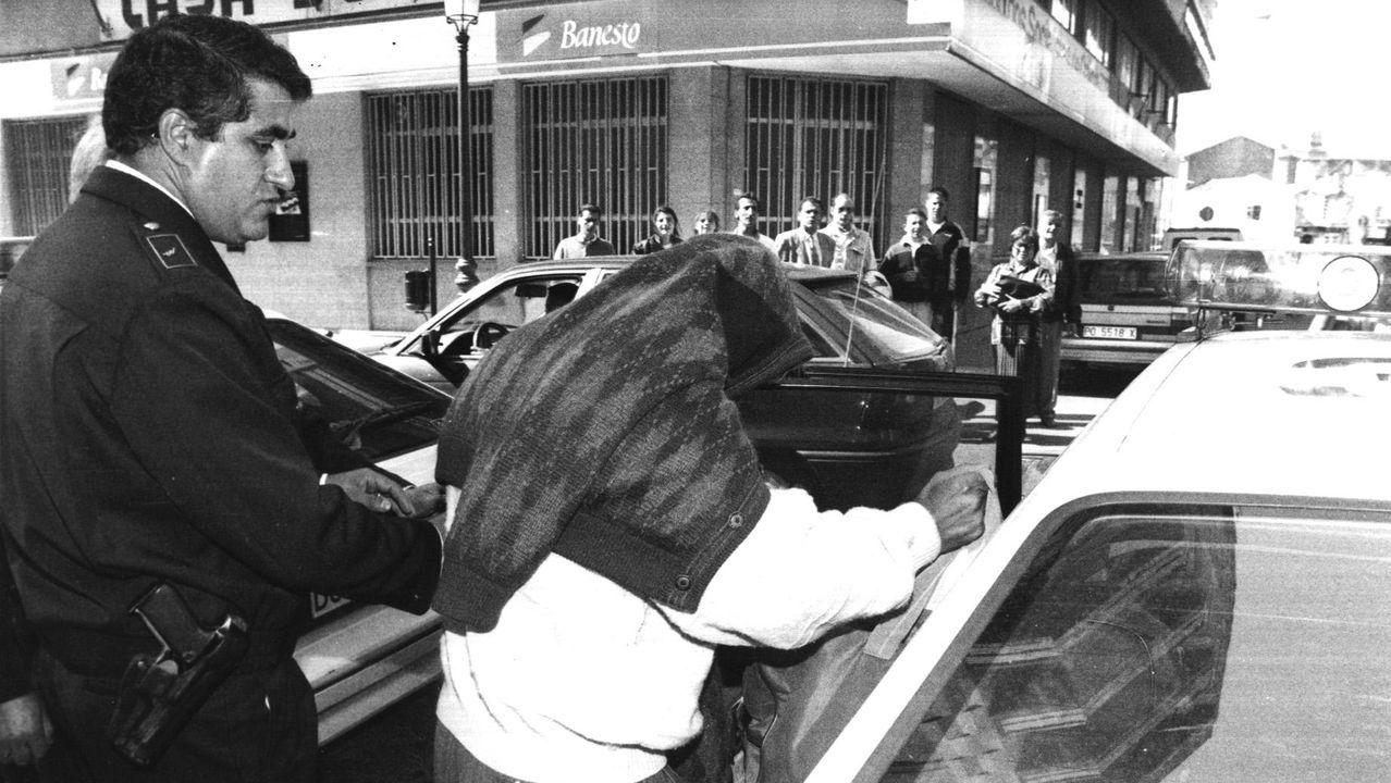 Detenidos en la operación Nécora, en Vilagarcía