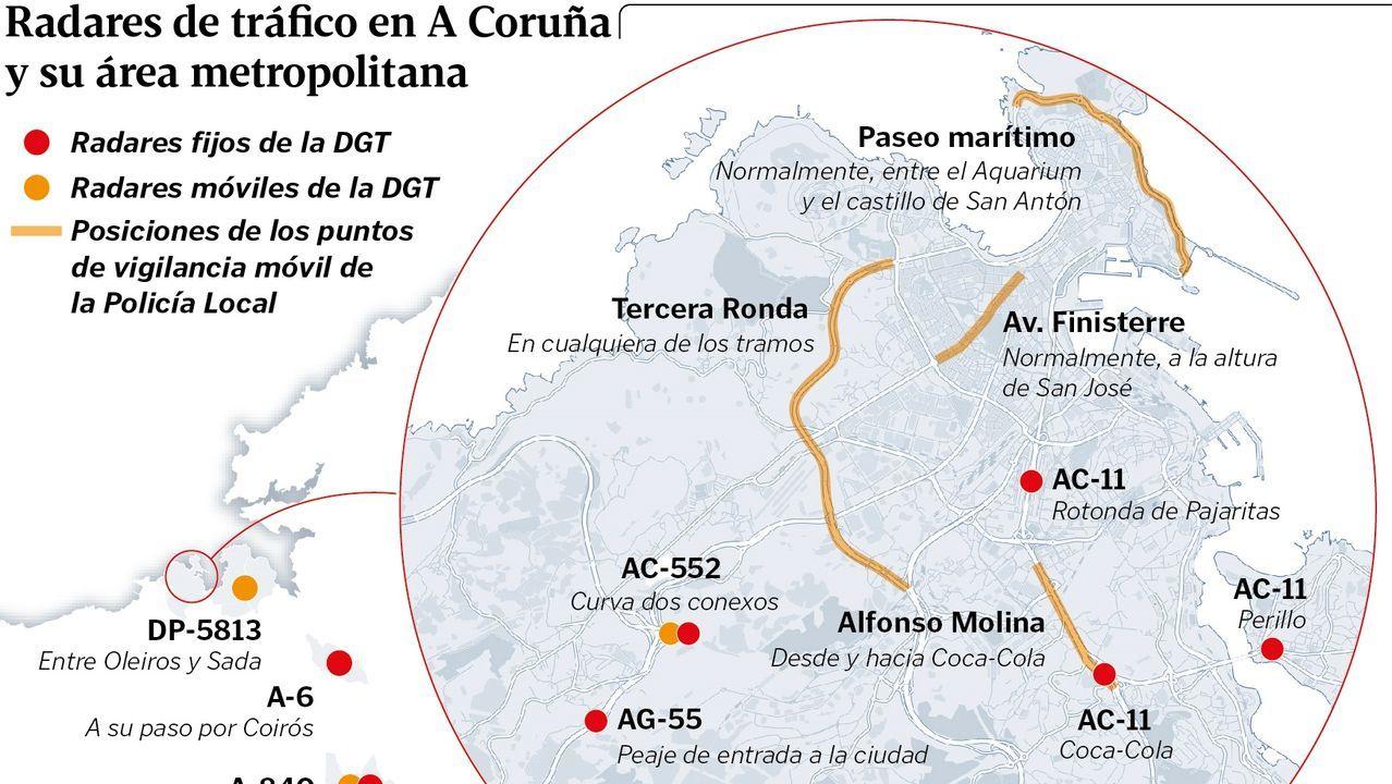 La travesía a nado de Pepe Nogueira.El Gobierno estima nula la inscripción del Pazo de Meirás en favor de los Franco