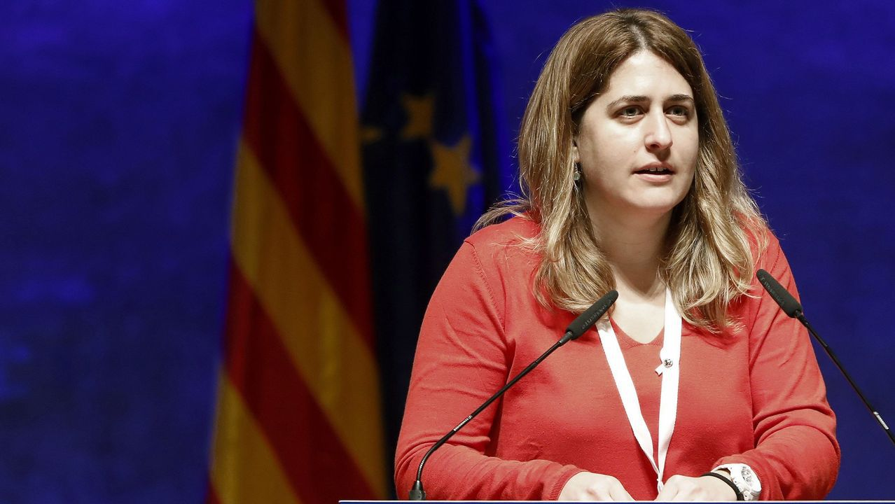 El diputado de la CUP, Carles Riera, tras la reunión mantenida con Torrent