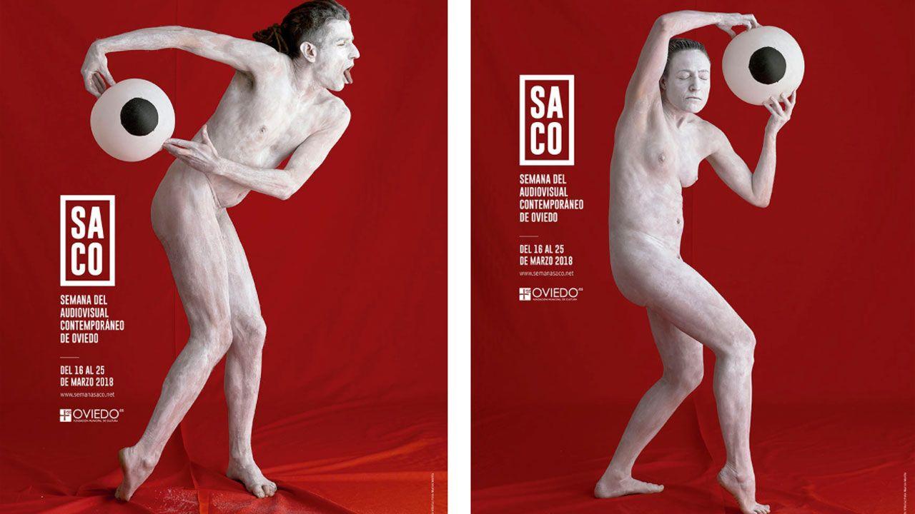 Carteles anunciadores de la cuarta edición de SACO