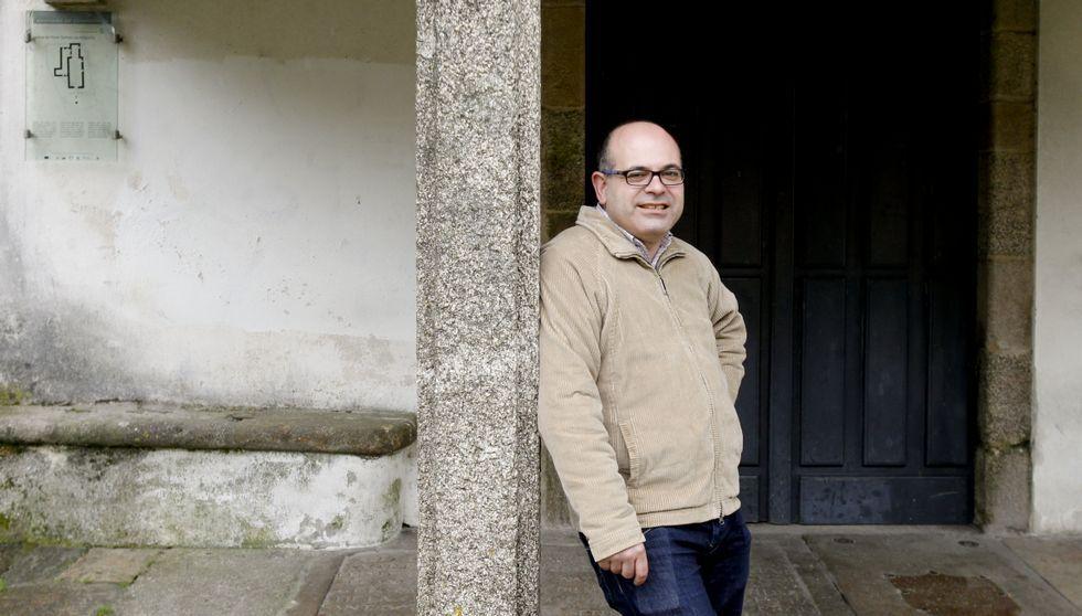 «El Dépor fue para mí el inicio de todo».Miguel Pazos, ademais de dirixir o Cetur, é profesor de Xeografía na Universidade de Santiago.