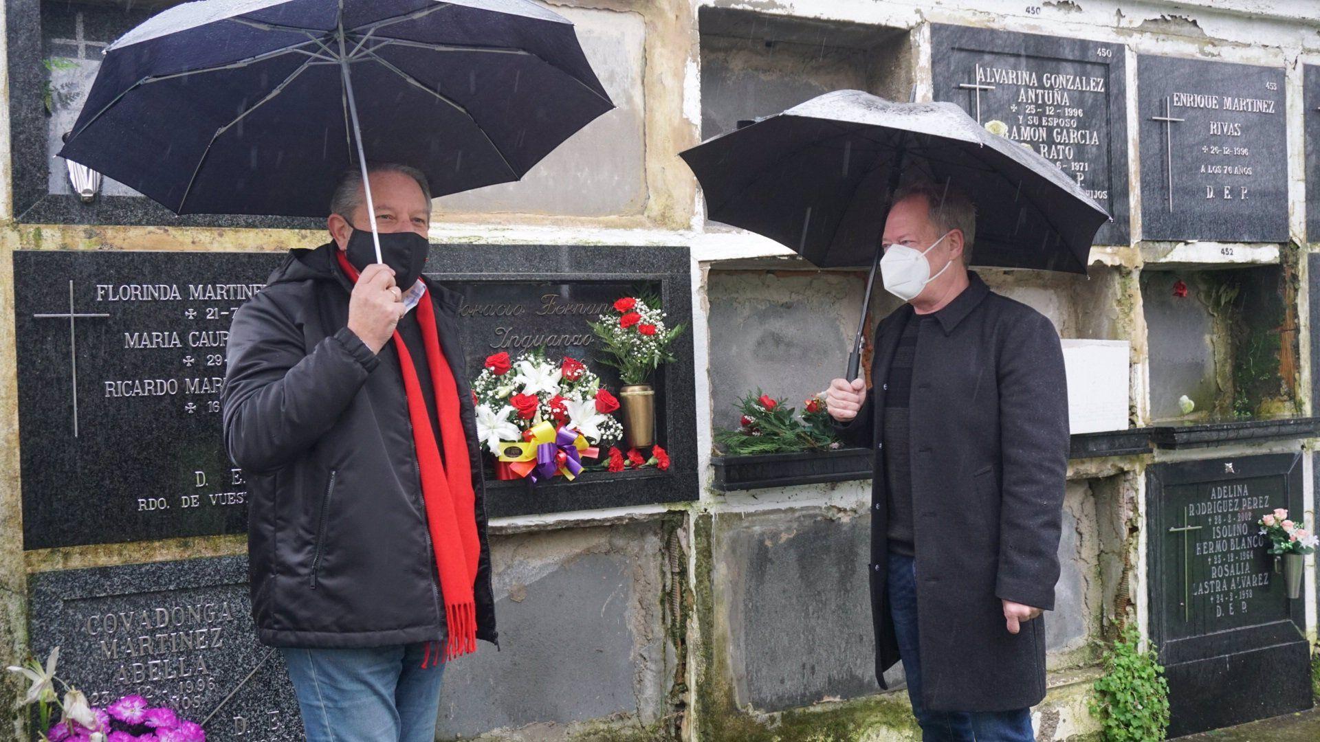 Acto de recuerdo por el 25 aniversario de la muerte de Horacio Fernández Iguanzo