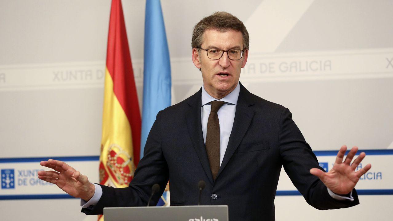 La residencia de O Barco fue intervenida por la Xunta el sabado