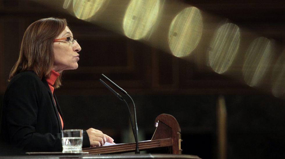 Rosana Pérez, número 4 del BNG por A Coruña. Pobra do Caramiñal, 1964. Concejal en A Pobra, portavoz del BNG y diputada en el Congreso entre el año 2012 y el 2015.