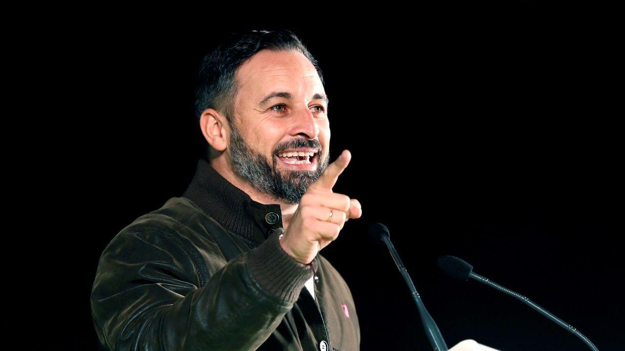 Santiago Abascal, candidato de Vox a la presidencia del Gobierno