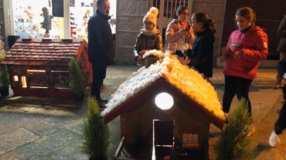 NAVIDAD EN CELANOVA.En Maceda, este año tienen un pobo de Nadal