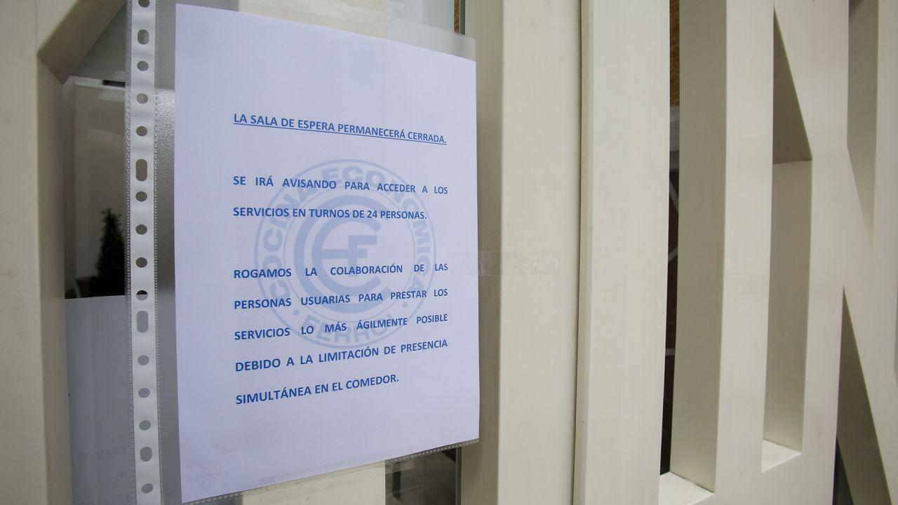 La Cocina Económica de Ferrol toma medidas contra el coronavirus