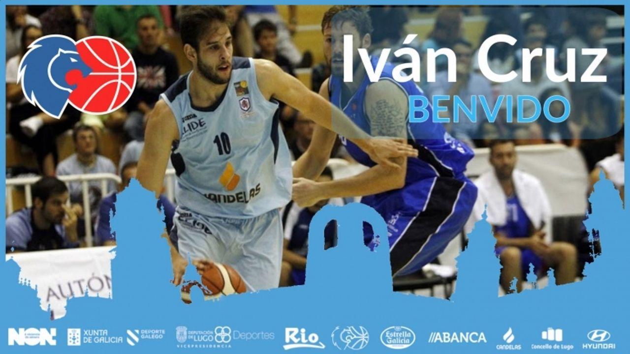 Iván Cruz, nuevo jugador del CB Breogán