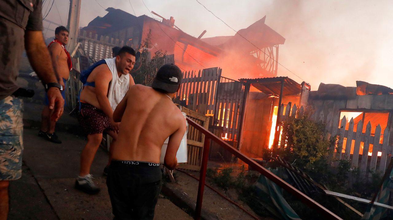 Incendio forestal en Chile.Incendios en Australia