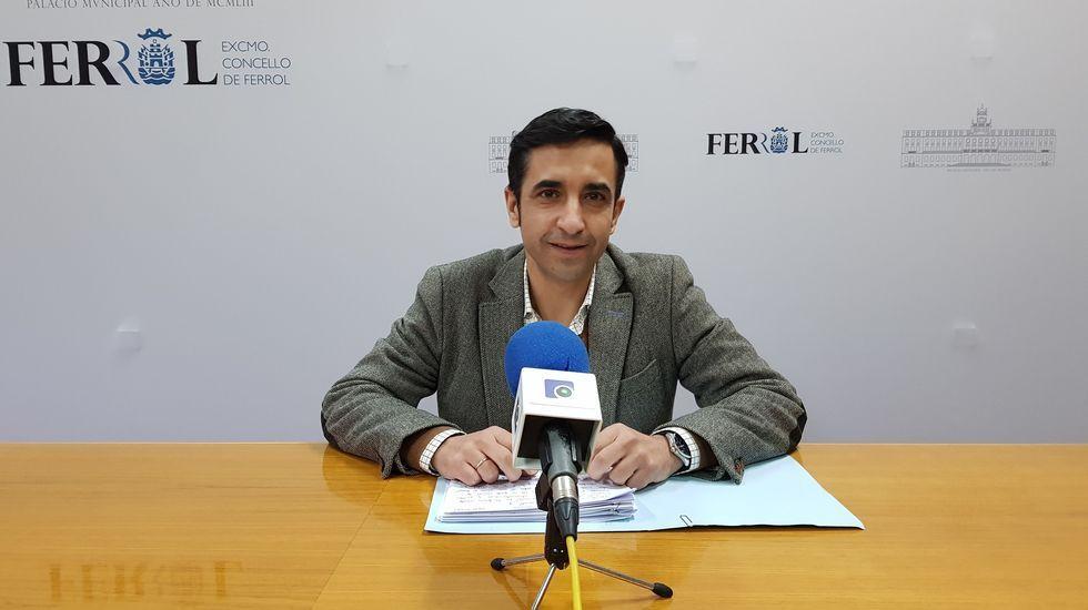 Así será la nueva plaza del mercado de Ferrol.Rey Varela y Langtry presentaron ayer la liquidación.