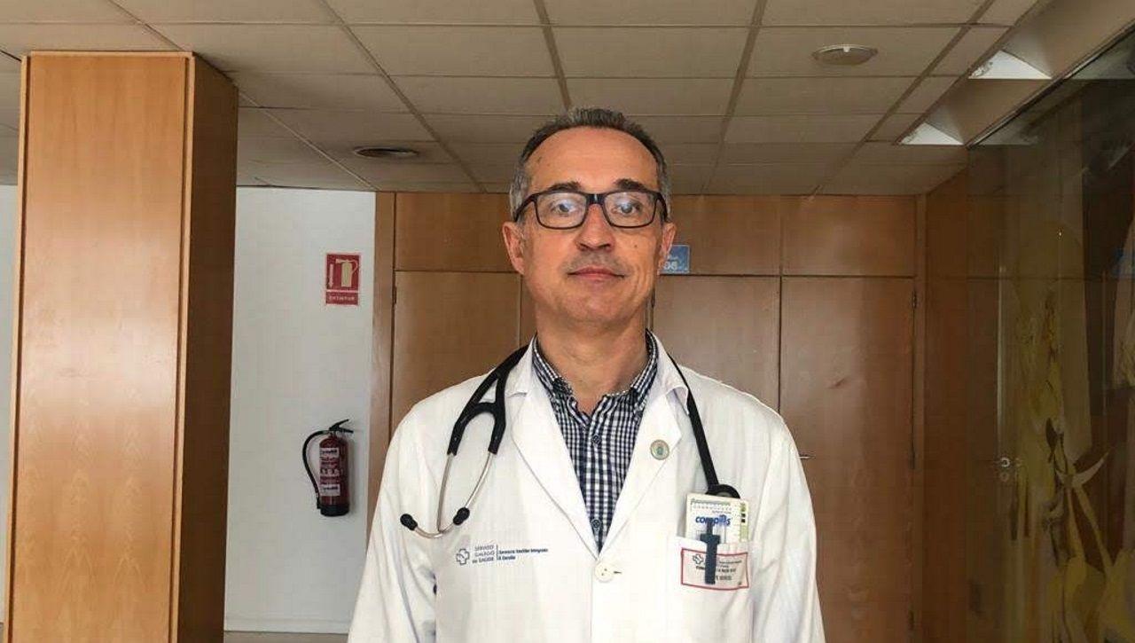 Fernando de la Iglesia, jefe de Medicina Interna del Chuac