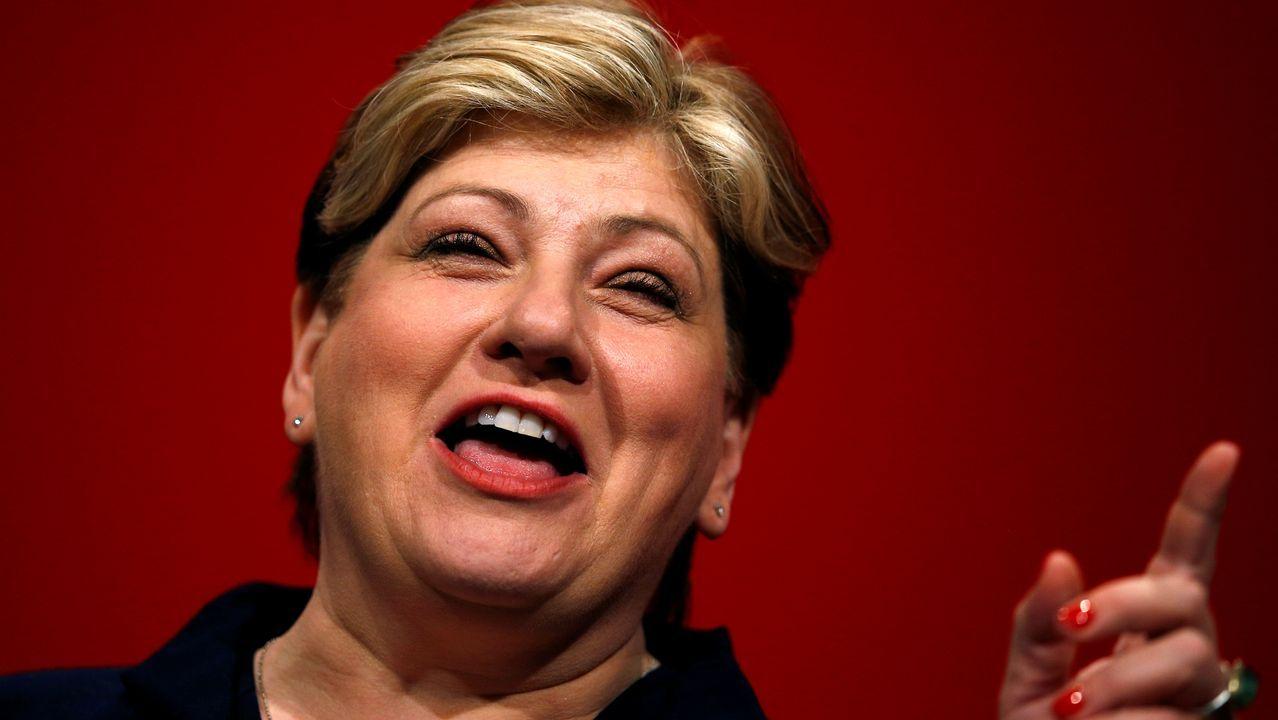 La portavoz de Exteriores del Partido Laborista, Emily Thornberry, se postuló este miércoles para suceder a Jeremy Corbyn