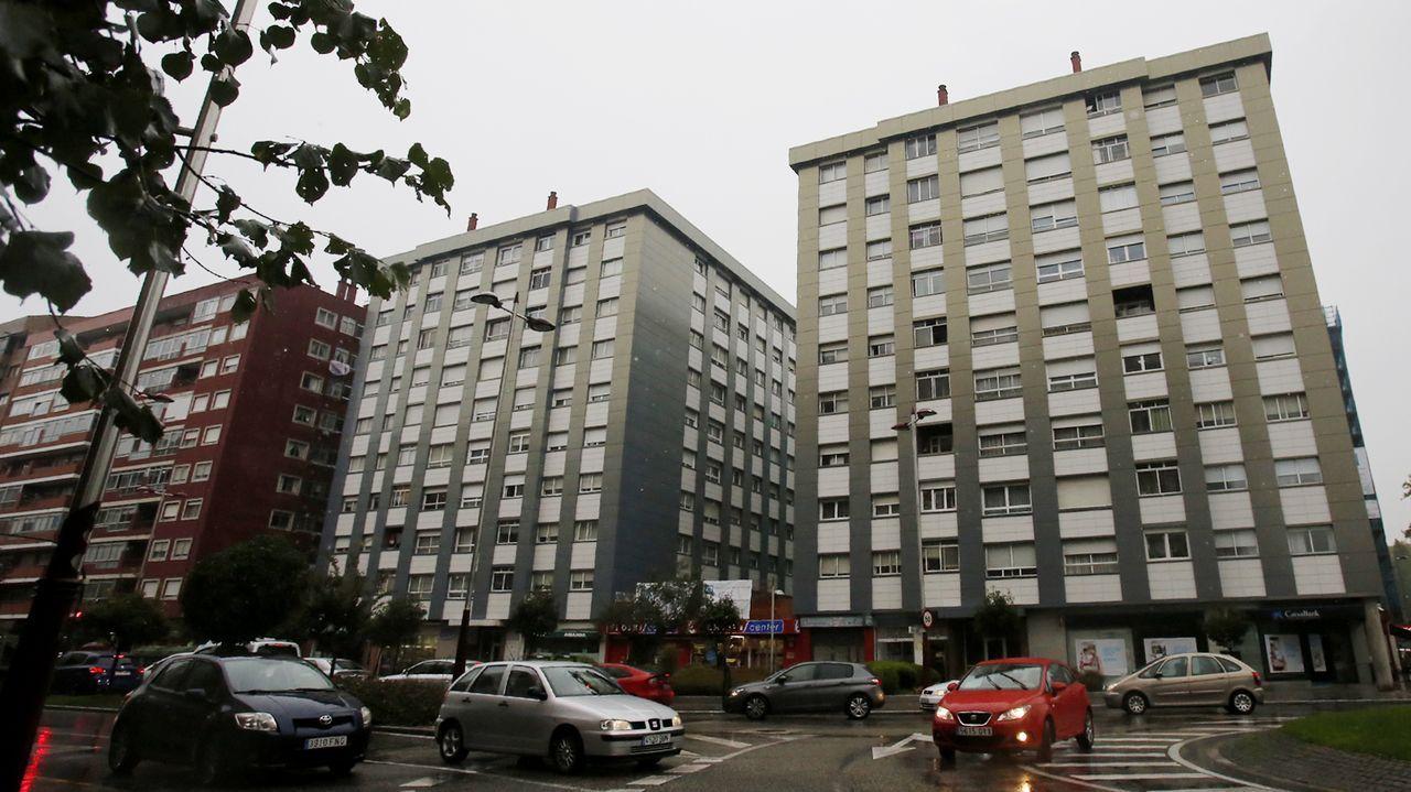 Edificio desde el que se arrojó el hombre denunciado por acoso sexual por la limpiadora