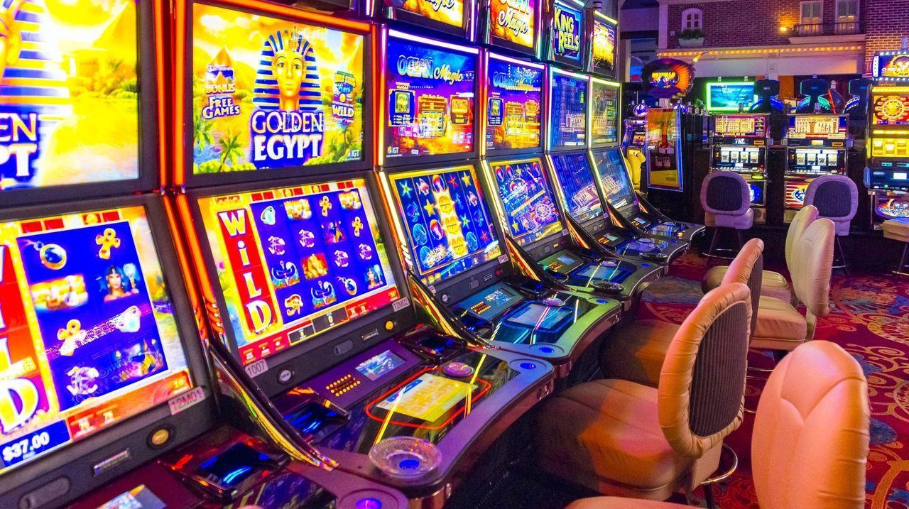 Imagen de un casino cerrado en Nevada, Estados Unidos, con motivo del coronavirus