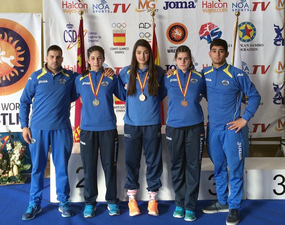 La expedición cruceña volverá de Murcia con una plata y dos bronces.