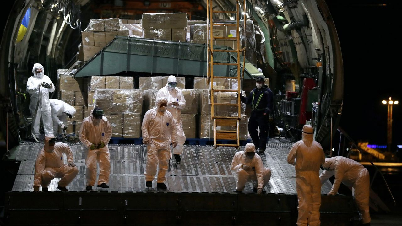 Material sanitario llegó a Portugal este martes desde Grecia