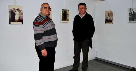 Manuel Fernández y Enrique Barrera, presidente y secretario de Memoria Histórica Democrática.