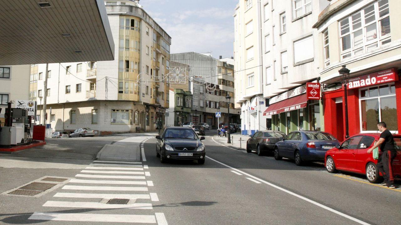 «Bohemian Rhapsody» de Queen.El adelantamiento temerario ocurrió en la avenida de A Coruña, en Betanzos