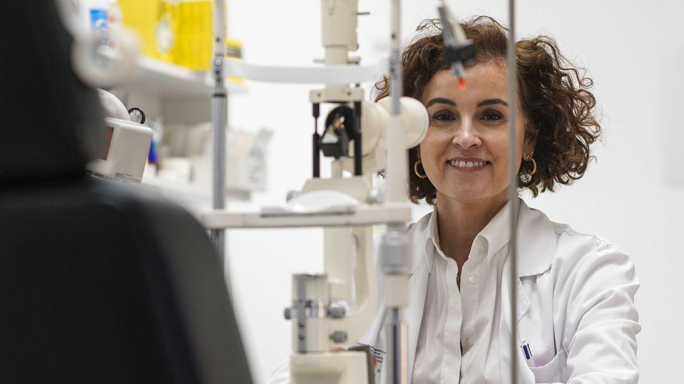 Paula Vázquez de Parga es oftalmóloga en el CHUO