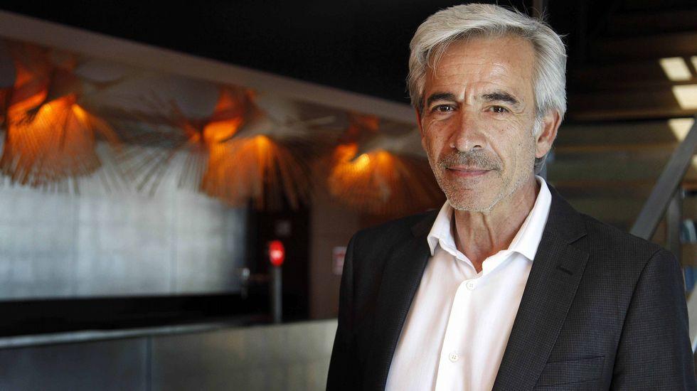 Cangas, más allá de Tintín.Hervé Falciani, en Oviedo.