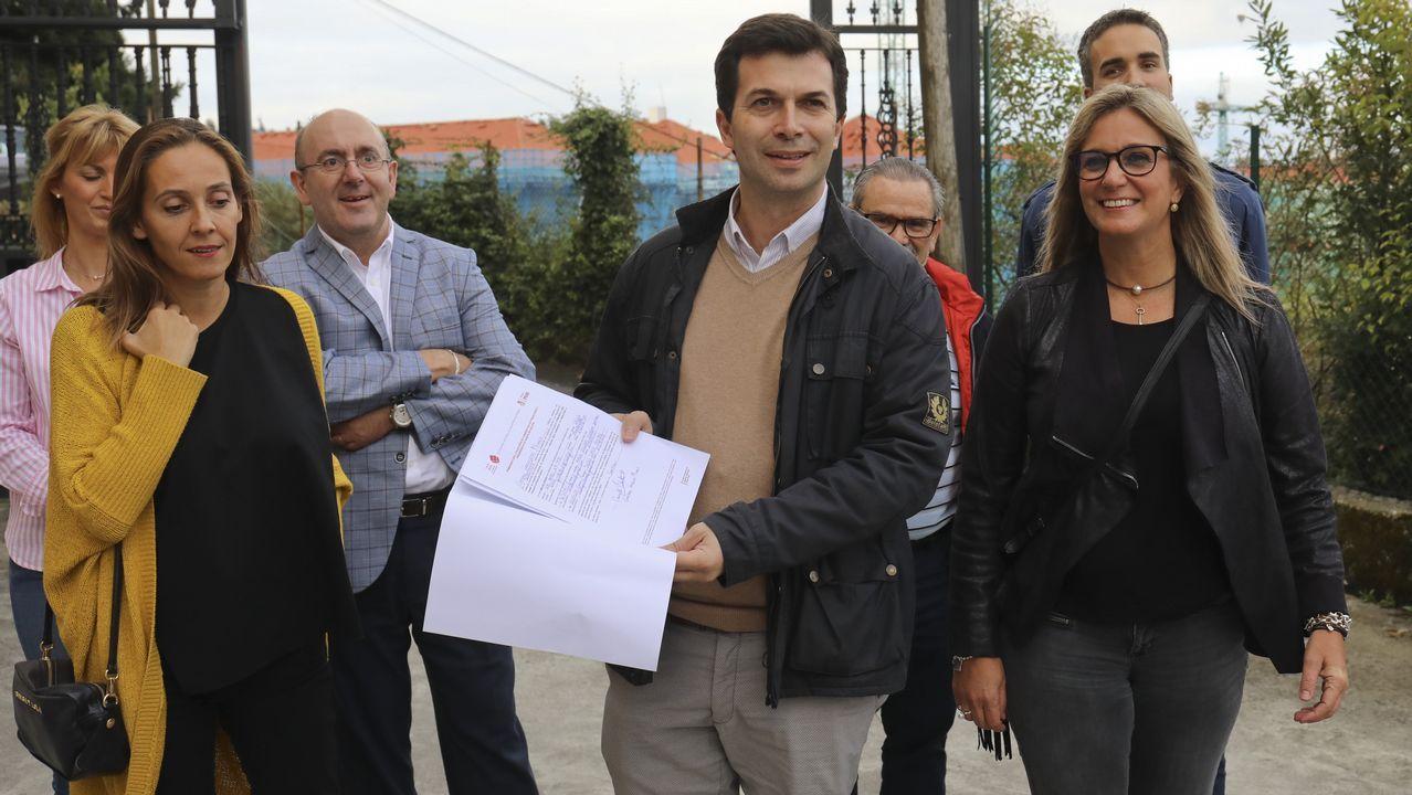 Gonzalo Caballero, candidato do PSdeG á presidencia da Xunta: «Son un instrumento ó servicio do cambio político en Galicia»