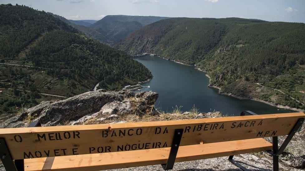 Una visita en imágenes al punto de encuentro de los ríos Cabe y Sil.El próximo año se sabrá si la Unesco declara la Ribeira Sacra patrimonio mundial