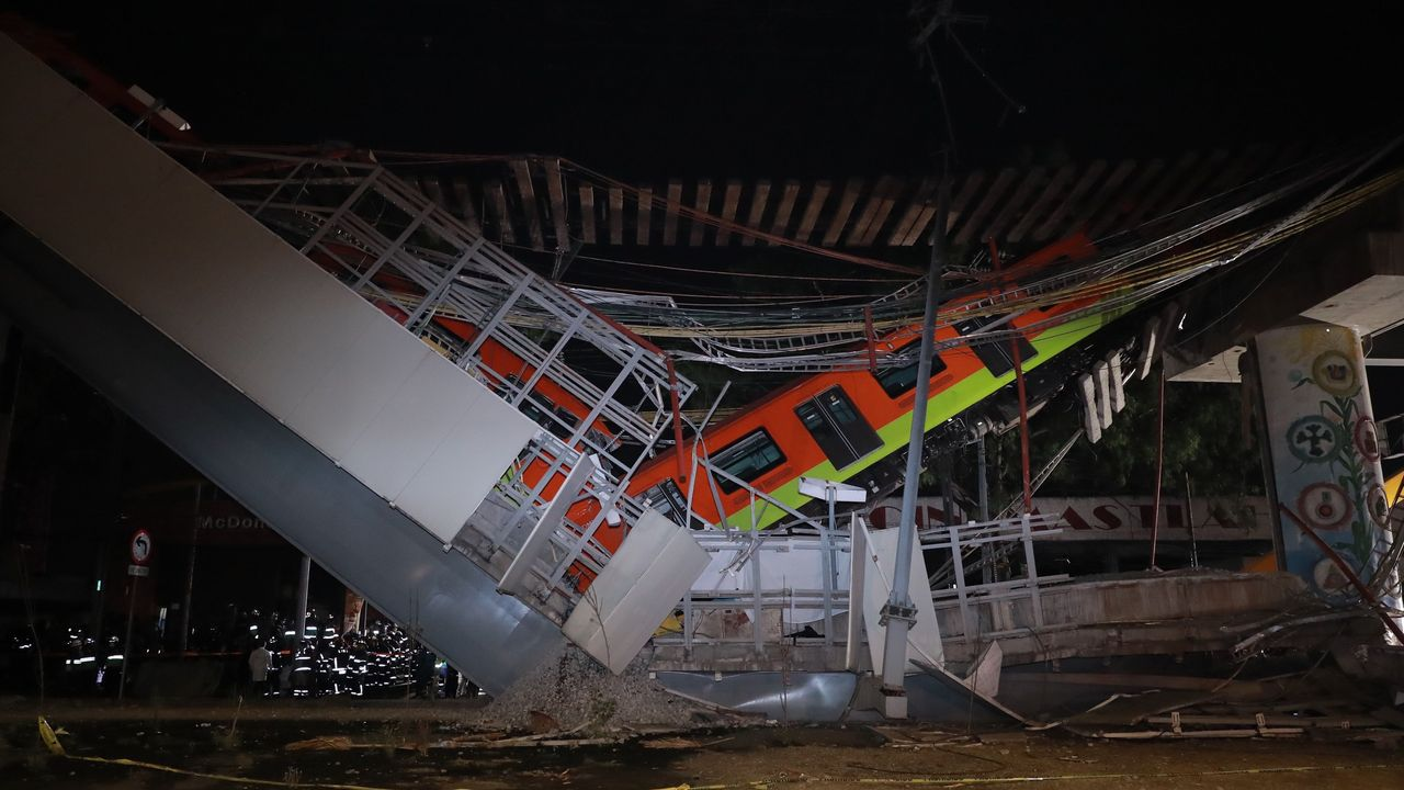 Tragedia en el metro de Ciudad de México