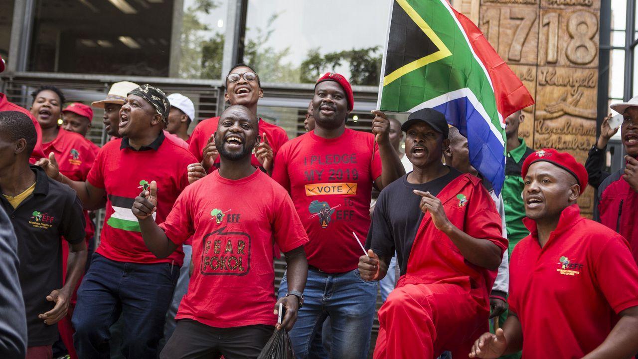 Ramaphosa se impusó con el 57,5 % de los votos tras finalizar el escrutinio de las elecciones celebradas el pasado 8 de mayo