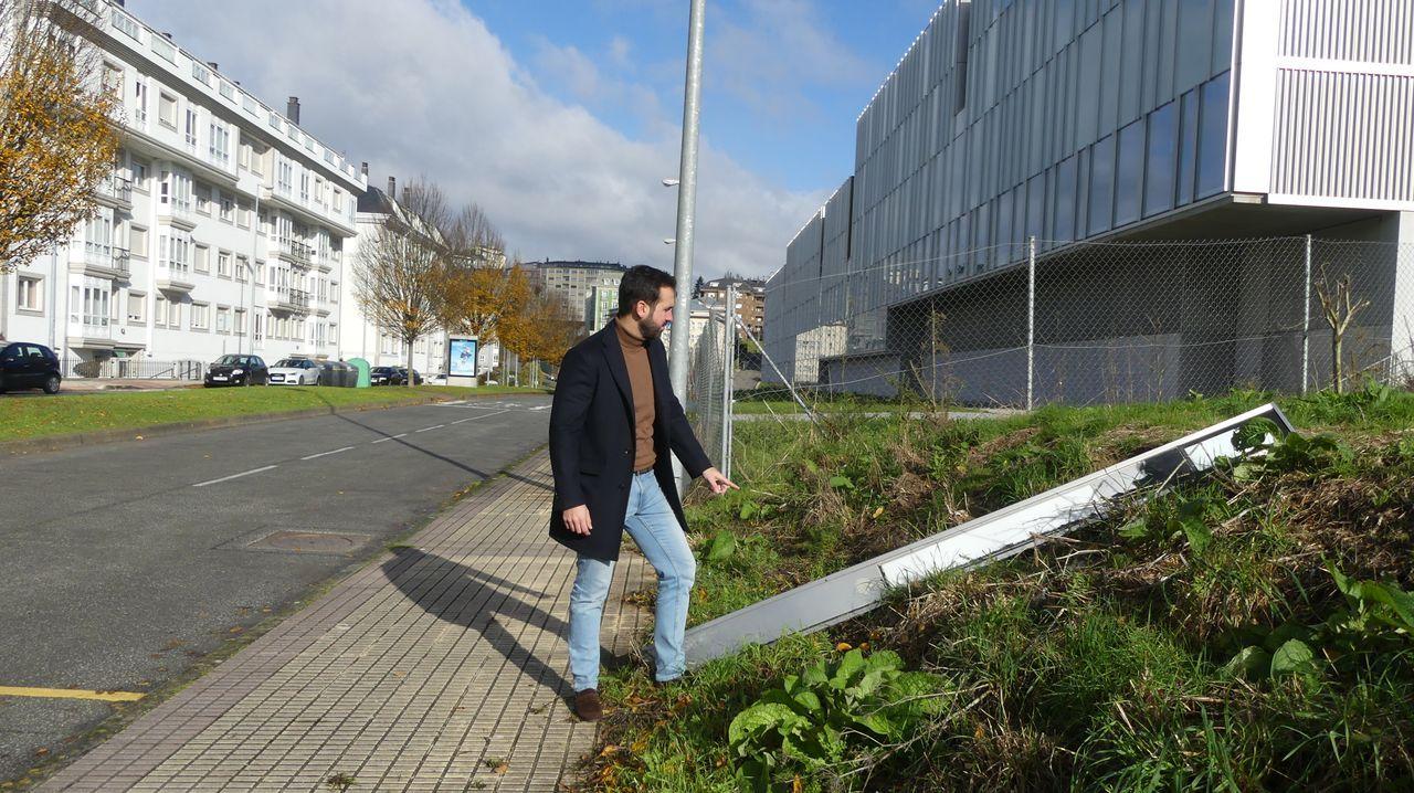 Las espectaculares imágenes que deja Fabien en Ferrol.Bolsa de malla reutilizable para fruta y verdura disponible en los establecimientos Vegalsa-Eroski
