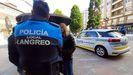 Agentes de la Policía Local de Langreo