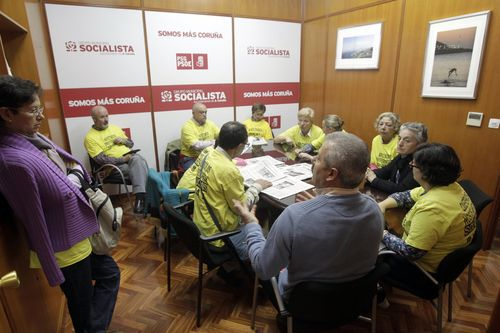 El PSOE ocupó el local que según la Marea Atlántica no cumple las exigencias de habitabilidad desde el 2011 hasta el 2019