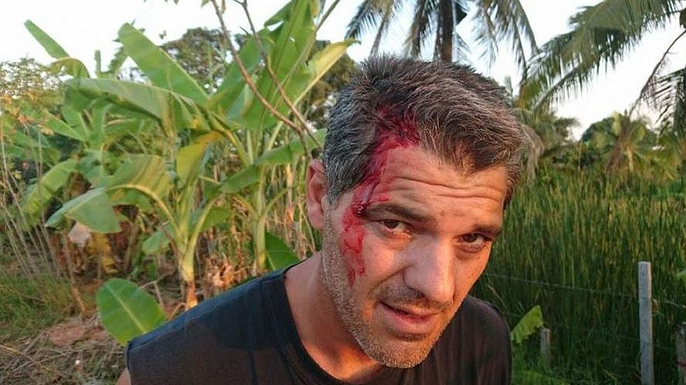 El presentador Frank Cuesta, agredido en Tailandia