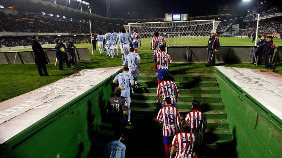 El último encuentro en Copa entre Celta y Atlético