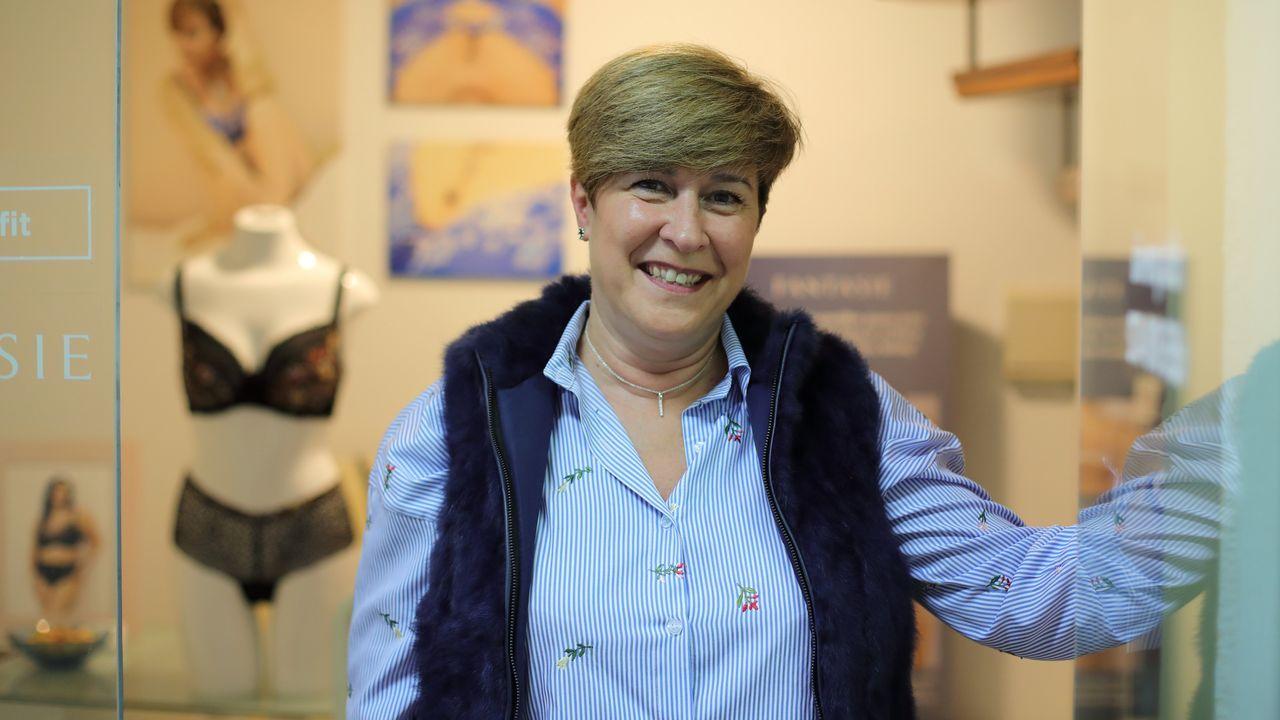 Begoña Bermúdez Pérez, asesora de ropa íntima de A Coruña