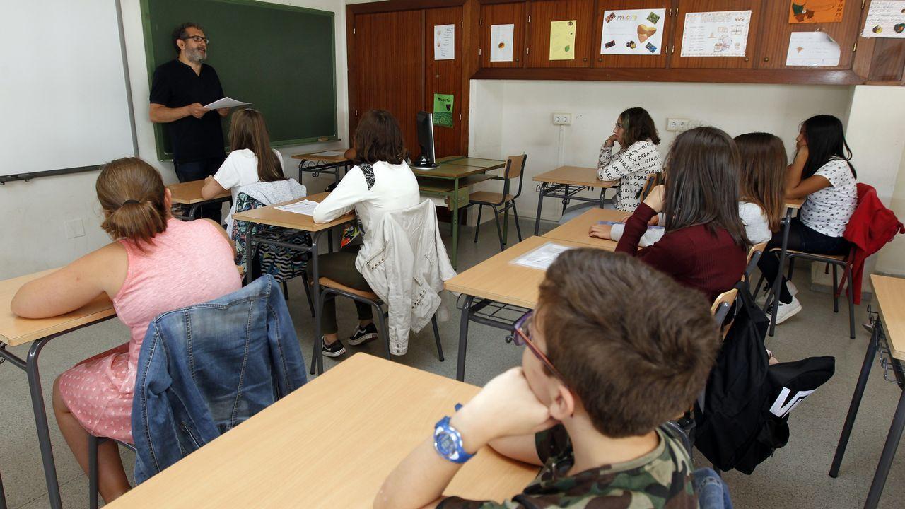 Escuela Antonio de Escaño, en Ferrol
